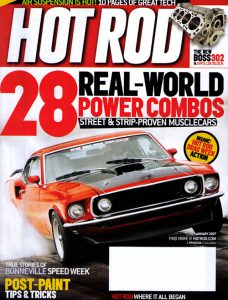 A2 wind tunnel HotRod magazine 2006 Turk