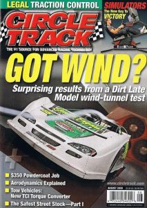 a2 wind tunnel CircleTrack magazine August 2009