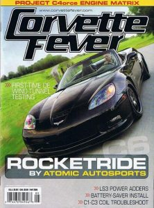 a2 wind tunnel Corvette Fever magazine May 2009