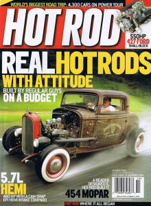a2 wind tunnel HotRod magazine October 2005