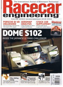 A2 wind tunnel racecar engineering magazine
