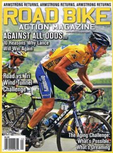 A2 wind tunnel Road Bike magazine Jan 2009