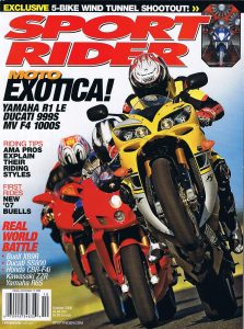 A2 wind tunnel sport rider magazine
