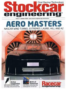 A2 wind tunnel stockcar engineering magazine