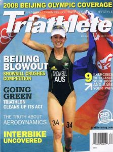 A2 wind tunnel Triathlete magazine 2008